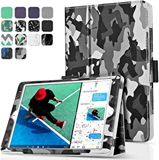 TNP New iPad 9.7 Inch 2018 2017 Case/iPad Air 1 Case - Corner Protection Premium PU Leather Folio Smart Cover w/Auto Sleep/Wake for iPad 9.7 in 2018 2017 Release, iPad Air 1 (Camouflage Black)
