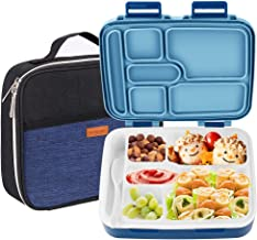 Lunch Box for Kids, NEXTAMZ Upgrade Leak-Proof Bento Box, 6-Compartment Lunch Containers..