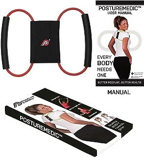 PostureMedic Original - Posture Corrector Brace - Improve Posture with Support and Exercises (Small)