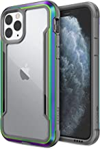 Defense Shield, iPhone 11 Pro Case - Military Grade Drop Tested, Anodized Aluminum, TPU, and Polycarbonate Protective Case for Apple 11 Pro, (Iridescent)