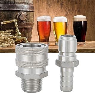 """Jeu à déconnexion rapide en acier inoxydable 1/2""""Barb et 1/2"""" BSP à déconnexion rapide pour le brassage de la bière maison"""