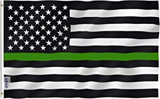 Best thin green line flag Reviews