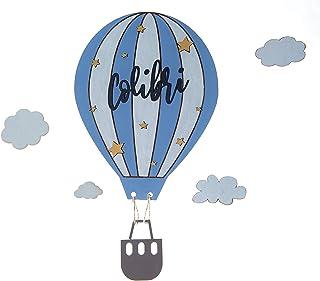 Letrero cartel Globo Aerostático con nombre personalizado