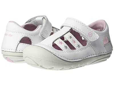 Stride Rite SM Aurora (Infant/Toddler) (White) Girls Shoes
