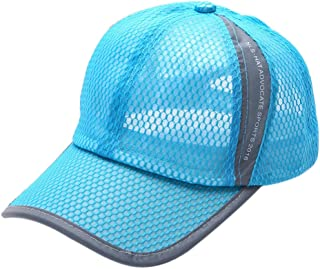 iLXHD Adult Mesh Hat Quick-Dry Collapsible Sun Hat Outdoor Baseball Cap 10b0029bd016