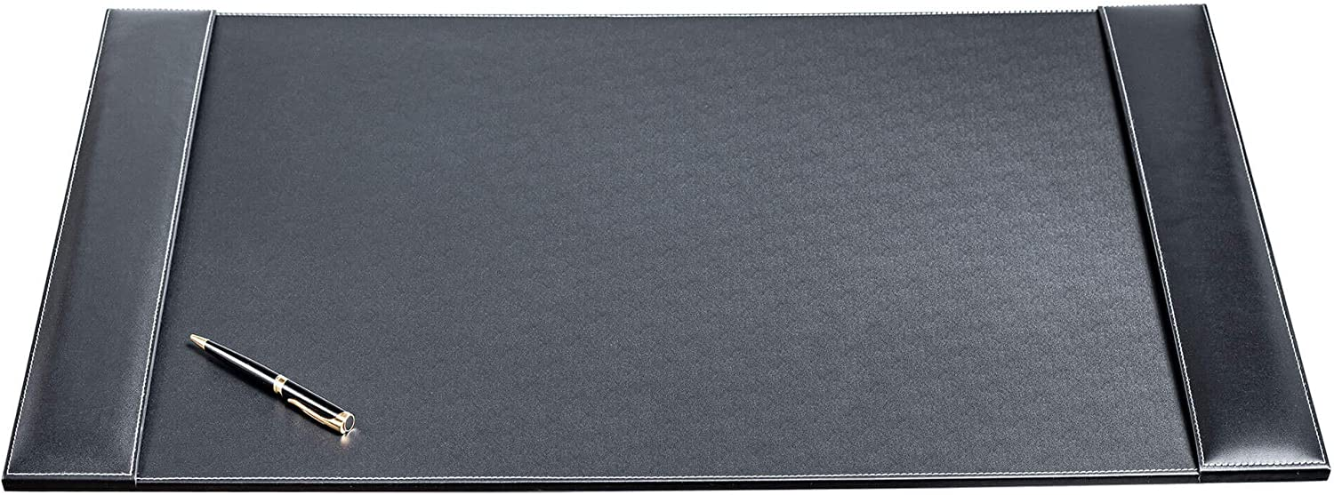 Dacasso Selling rankings Leather Desk pad 34 Sales for sale 20 Black x Rustic