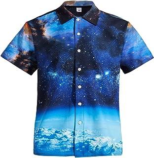 FRE4D3 Hip Hop Graffiti Printing Hawaii Fancy Beach Shirts Streetwear 2019 Summer Men Casual Short Sleeve Holiday Shirt