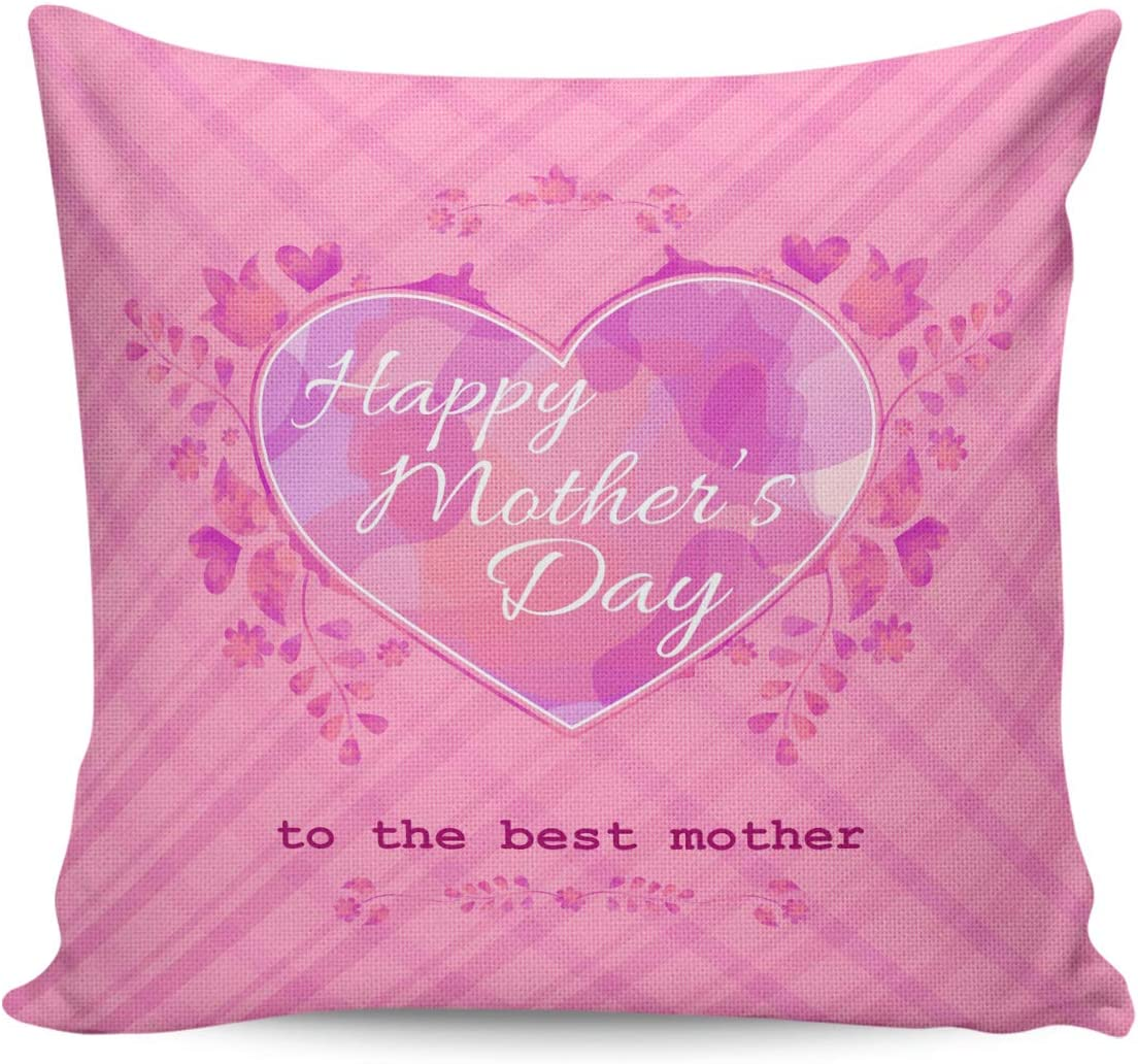 BABE MAPS Mother's Day Throw Pillow and Case Soft Sq Fashion Cover Japan Maker New Cozy