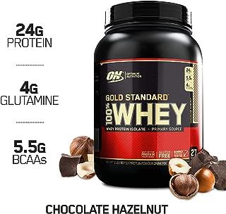 Optimum Nutrition Gold Standard 100% Whey Protein Powder, Chocolate Hazelnut, 2 Pound