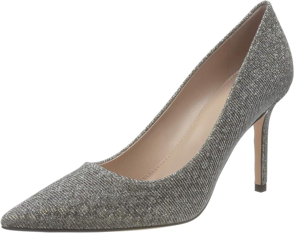 Hugo boss ines pump 85-gl scarpe décolleté scarpe con il tacco a spillo per donna in poliuretano 50441676A