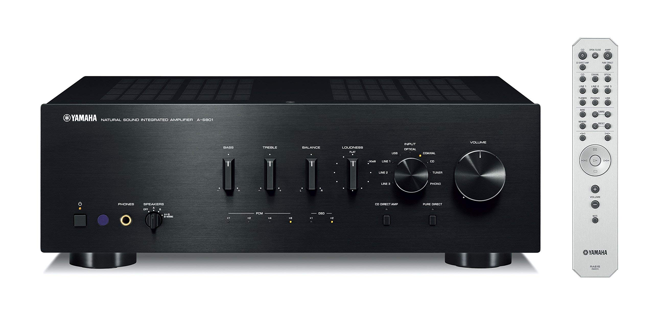 Yamaha S801BL Natural Integrated Amplifier