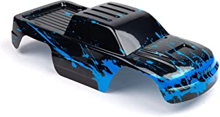 Custom Body Muddy Blue Over Black Compatible for 1/10 Stampede Bigfoot 4x4 VXL 2WD Slayer RC Car or Truck (Truck not Inclu...