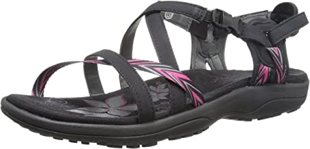 Skechers Women's Reggae Slim-Keep Close Gladiator Sandals