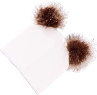 Toddler Infant Baby Hats Kids Boys Girls Venonat Knited Woolen Headgear Hat Winter Wool Knit Bobble Caps
