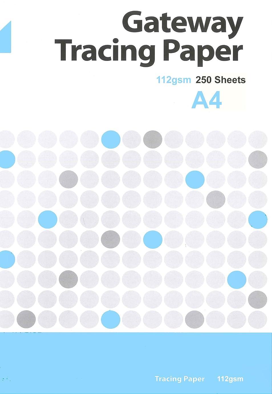 Gateway A4 112 GSM 250 Sheets Natural Tracing Paper zdbgtv6623