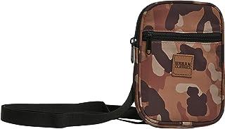 Urban Classics Festival Bag - Bolso bandolera (tamaño pequeño, 19 cm), marrón camuflaje. (Marrón) - TB2145