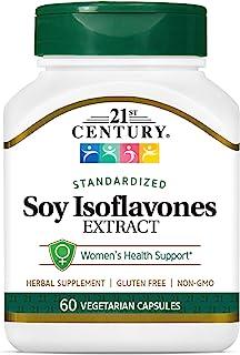 21st Century Soy Isoflavones Veg Capsules, 60Count