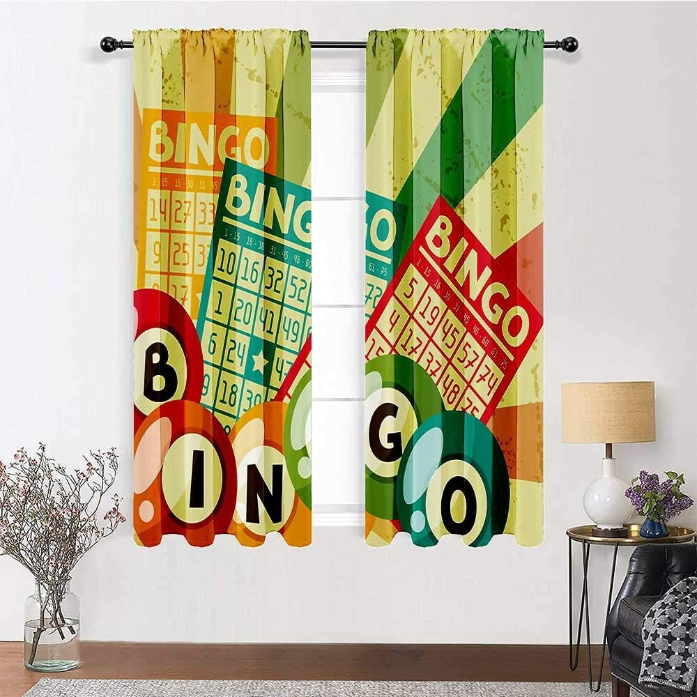 GugeABC Farmhouse Curtains 96 inch Drapes Vintage Surprise price Length Popular shop is the lowest price challenge Decor