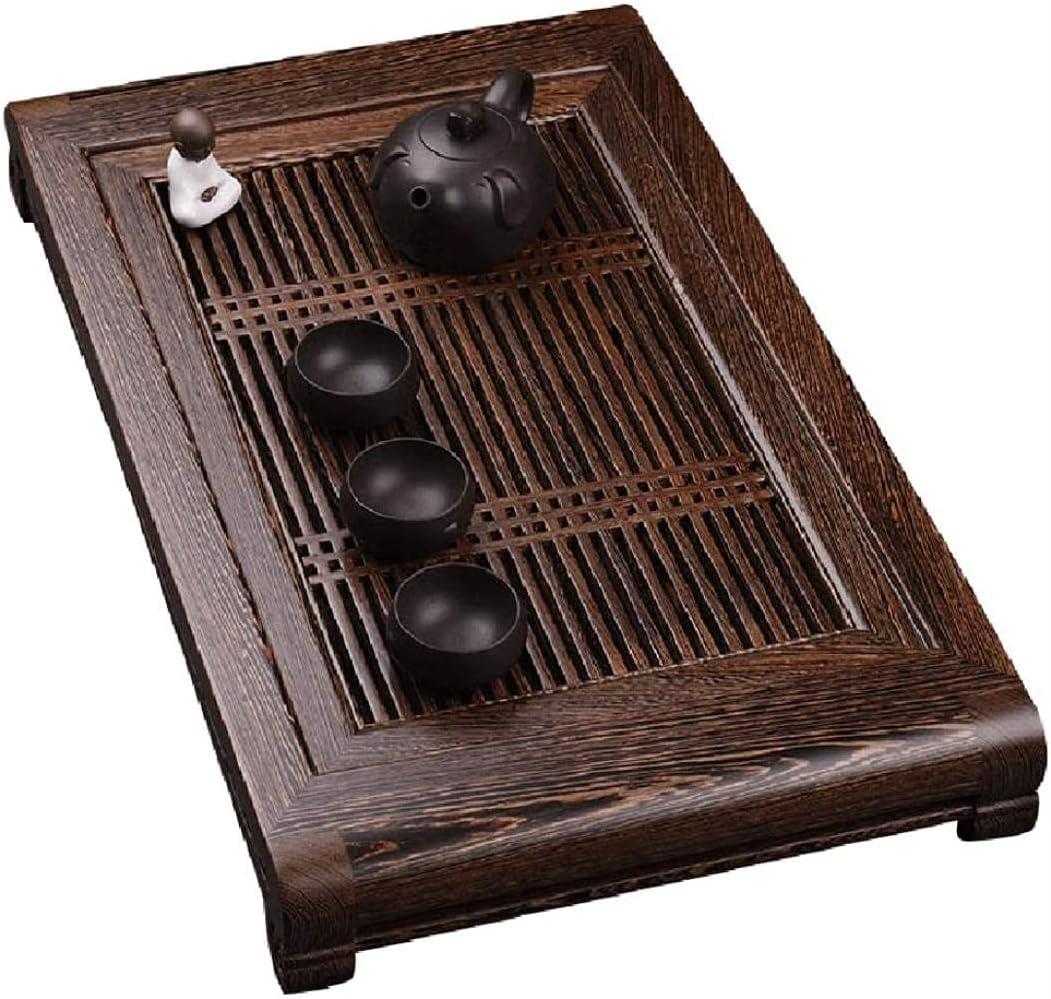Tea Tray Solid Wood Japanese Simple Fashion Regular dealer Square Over item handling ☆ Table Zen