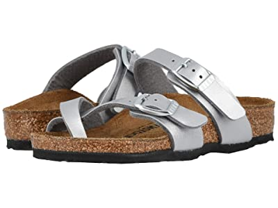 Birkenstock Kids Mayari (Little Kid/Big Kid) (Silver) Girls Shoes