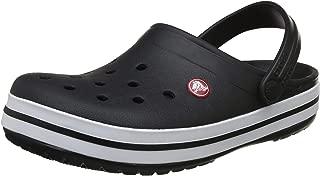 crocs Unisex's Crocband Black Clogs-4 Men/ 5 UK Women (M5W7) (11016-001)