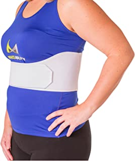 BraceAbility Rib Injury Binder Belt | Women's Rib Cage Protector Wrap for Sore or Bruised Ribs Support, Sternum Injuries, ...