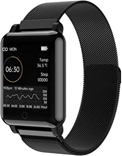 Smart Watch, Fitness Tracker with Blood Oxygen Monitor (Spo2) Heart Rate Monitor Pulse Oximeter Smartwatch Fitness Watch S...