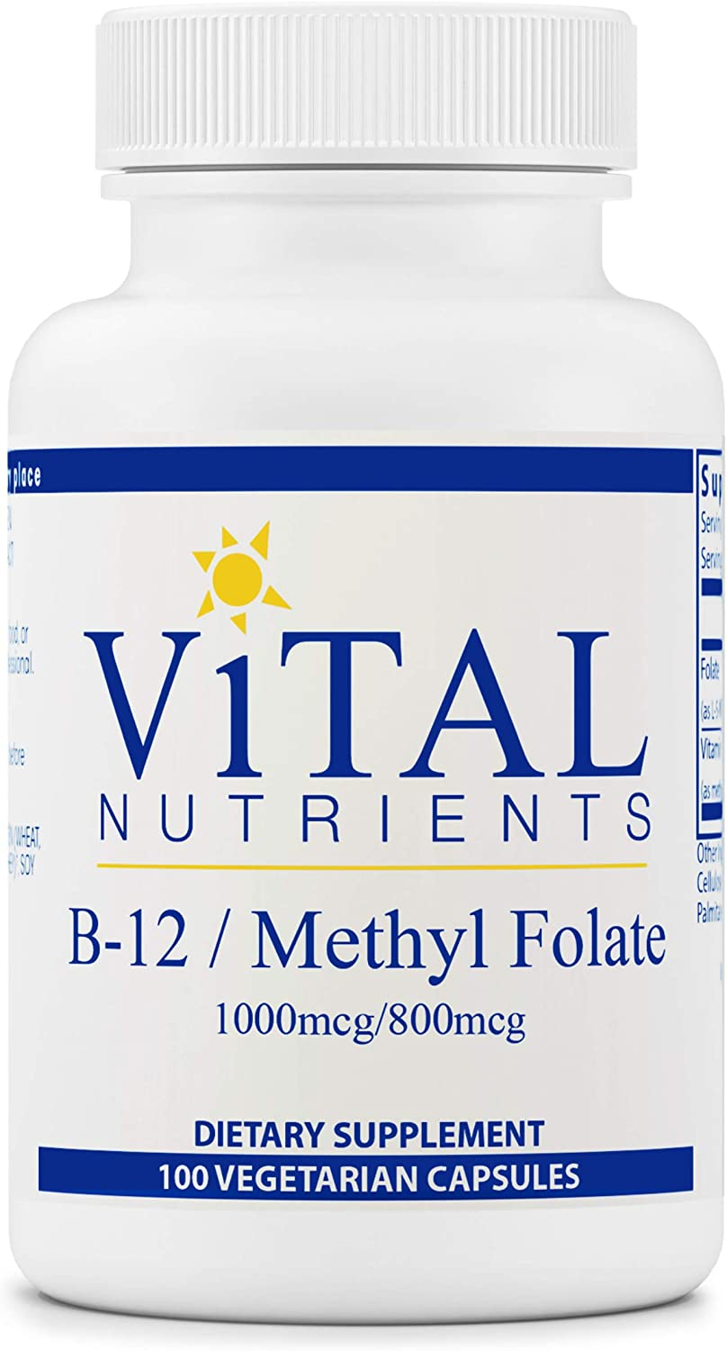 Max 47% OFF Vital Nutrients - Vitamin B12 Methyl Healthy Folate sold out Supports