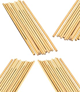 """50 Pack Wooden Dowel Rods 