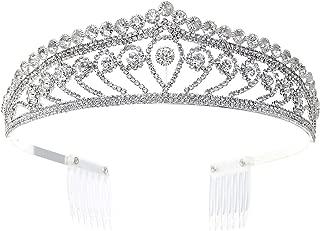 Rosemarie Collections Women's Tiara Crown Headpeice