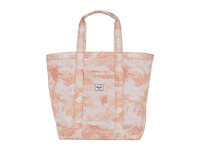 Herschel Supply Co. Bamfield Mid-Volume (Pastel Cloud Papaya) Tote Handbags