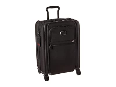 Tumi Alpha 3 Continental Dual Access 4 Wheeled Carry-On (Black) Luggage