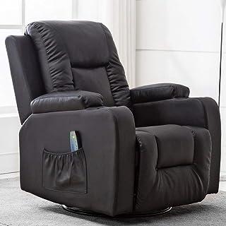 Amazon.com: Black - Chairs / Living Room Furniture: Home ...