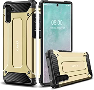 J&D Case Compatibel met Samsung Galaxy Note 10 Hoesje, Heavy Duty ArmorBox, Dubbellaagse Schokbestendige Hybride Robuuste ...