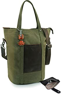 Tote Bag RN Laptop Reversible K for Women Nurse Teacher Zipper Utility Green Shopper