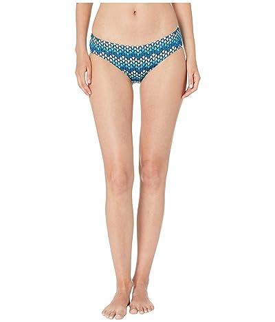 Vilebrequin Frisbee Herringbones Turtles Bikini Bottoms (Blue) Women