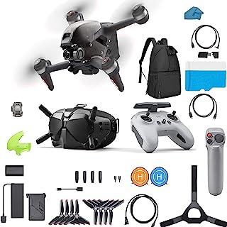 DJI FPV Combo Bundle - First-Person View Drone UAV Quadcopter Bundle with Joystick Motion 4K...