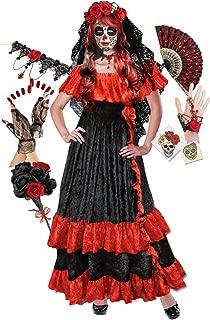 Plus Size Day of The Dead Costume for Dia de Los Muertos