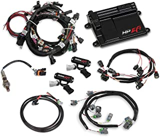 NEW HOLLEY TI-VCT HP EFI ECU KIT WITH POWER HARNESS,MAIN HARNESS,COIL HARNESS,INJECTOR HARNESS & SENSORS,NTK O2 SENSOR,COMPATIBLE WITH 2011-2017 FORD COYOTE ENGINES