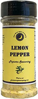 Premium | LEMON PEPPER Popcorn Seasoning | Large Shaker | Crafted in Small Batches with Farm Fresh SPICES for Premium Flavor and Zest