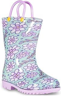 ZOOGS Children's Rain Boots Handles, Little Kids & Toddlers, Boys & Girls
