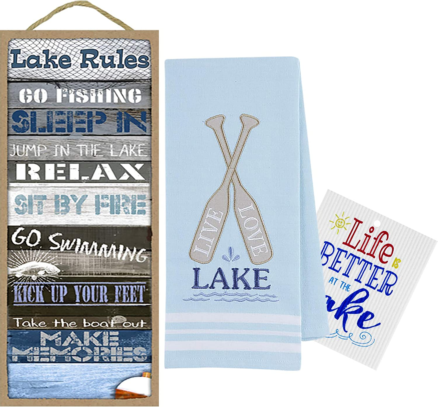 Generic Lake House Decor for Free Max 40% OFF shipping Home Nautical Kitchen The Towel