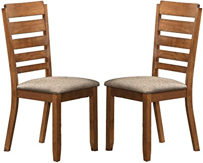Baxton Studios - Taylor Modern Dining Chair in Brown Wood