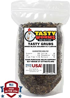 Tasty Grubs 10lbs Dried Black Soldier Fly Larvae Bag Made in USA