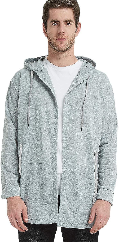 Haseil Men's Cardigan Sweaters Assassins Creed Long Sleeve Swag Cloak Hipster Sweatshirt