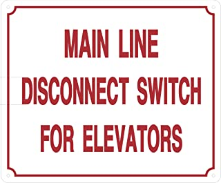 Best elevator disconnect switch Reviews