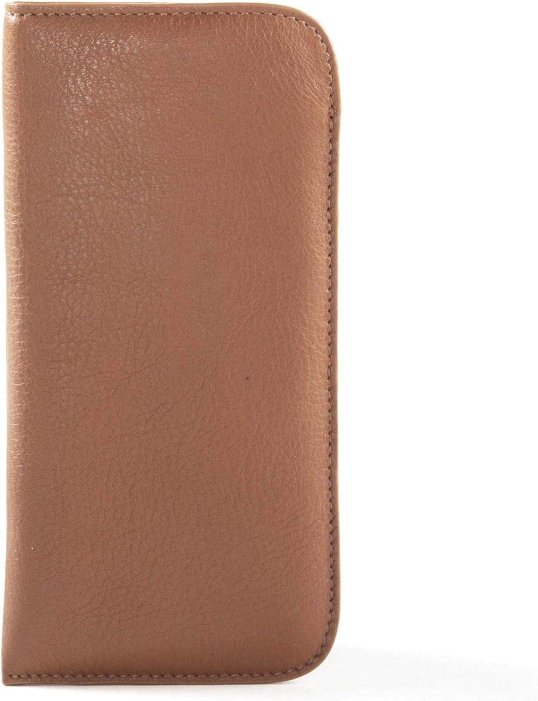 Leatherology Cognac Soft Eyeglass Case