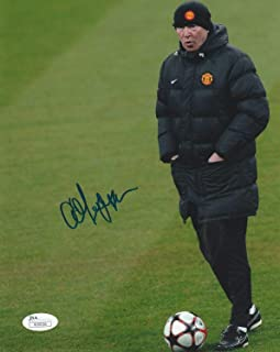 Sir Alex Ferguson Autographed Signed Memorabilia Manchester United 8x10 Photo Proof - - JSA Authentic