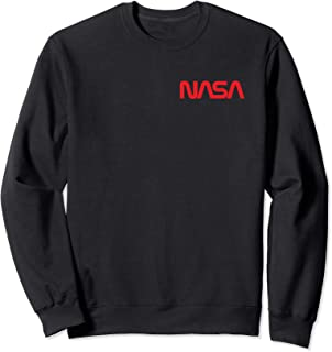 NASA Shirt, New Chest Worm Logo Insignia Symbol Graphic Sweatshirt