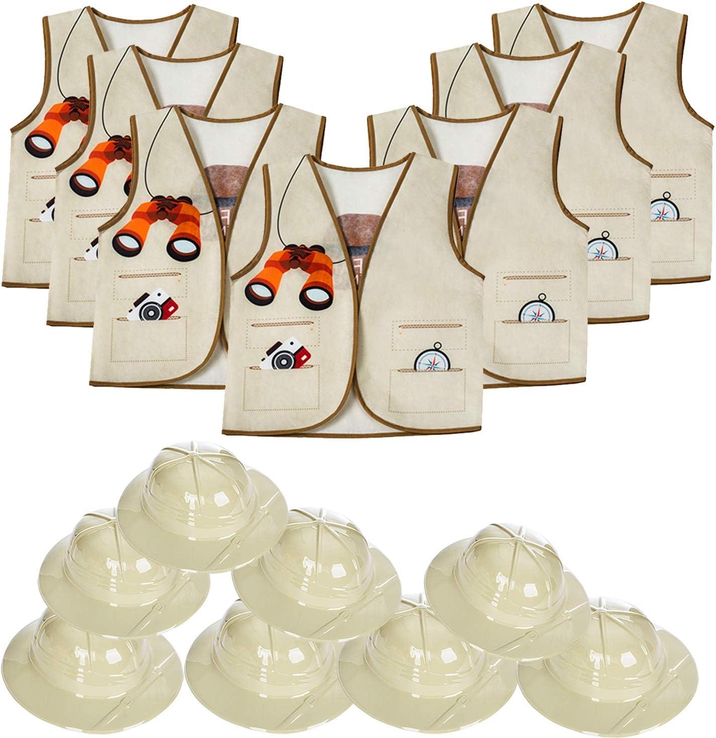 Tigerdoe Pith High quality new Spring new work Helmets for Kids - 8 Jungl Hats Safari Vests